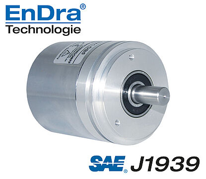 Wachendorff Automation encoder: absolute encoder CAN SAE J1939, galv