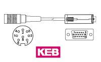 KD84015S KEB Drehgeber Kabeldose