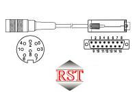 KD84015S RST Drehgeber Kabeldose