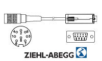 KD84015S ZIL Drehgeber Kabeldose