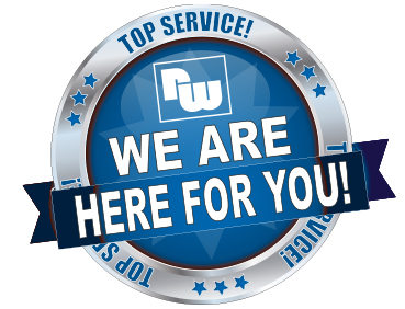 TOP Service! We are here for you!