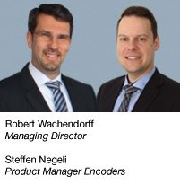 Robert Wachendorff Managing Director  Steffen Negeli Product Manager Encoders